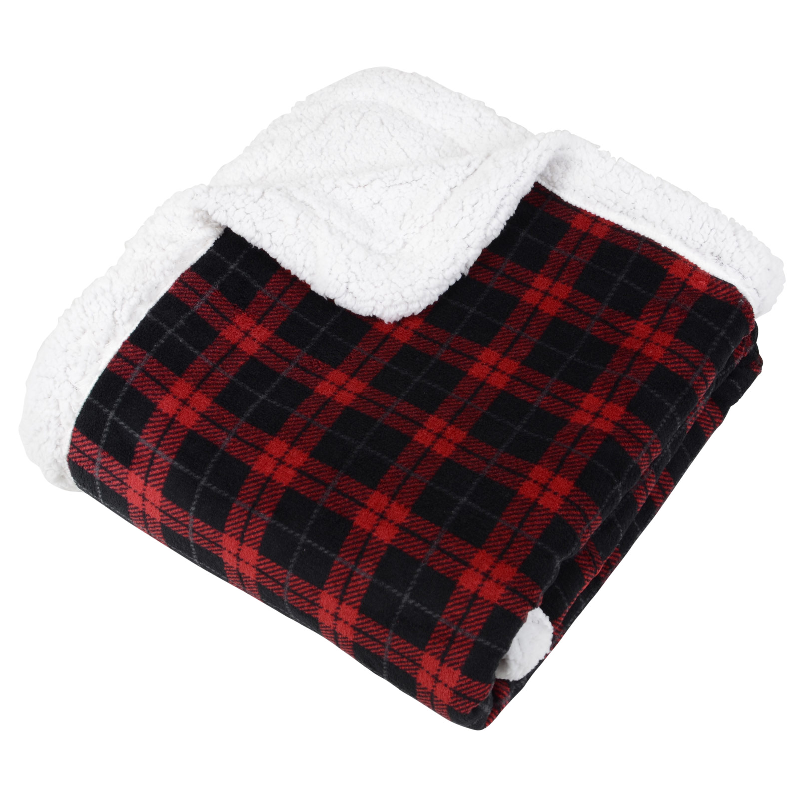 ebay large chair covers for thanksgiving tartan check warm fleece blanket soft sherpa luxury home sofa bed throw |