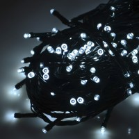 Battery Operated Chasing LED Lights String With Timer ...