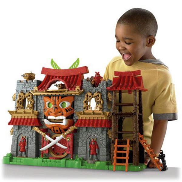 Childrens Imaginext Samurai Castle Playset Toy Ages 3-8