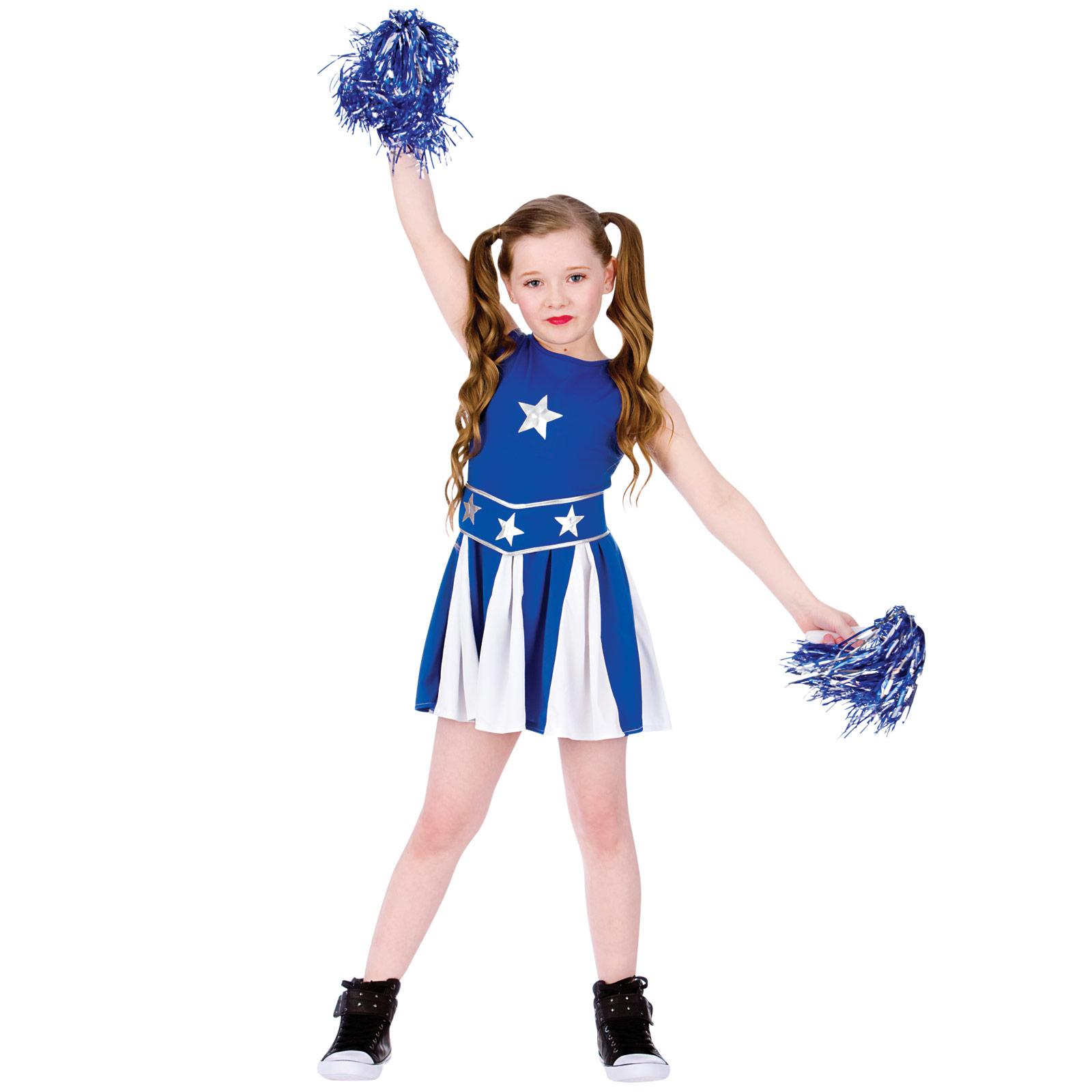 Kids High School Cheerleader Cheer Dress Halloween Costume