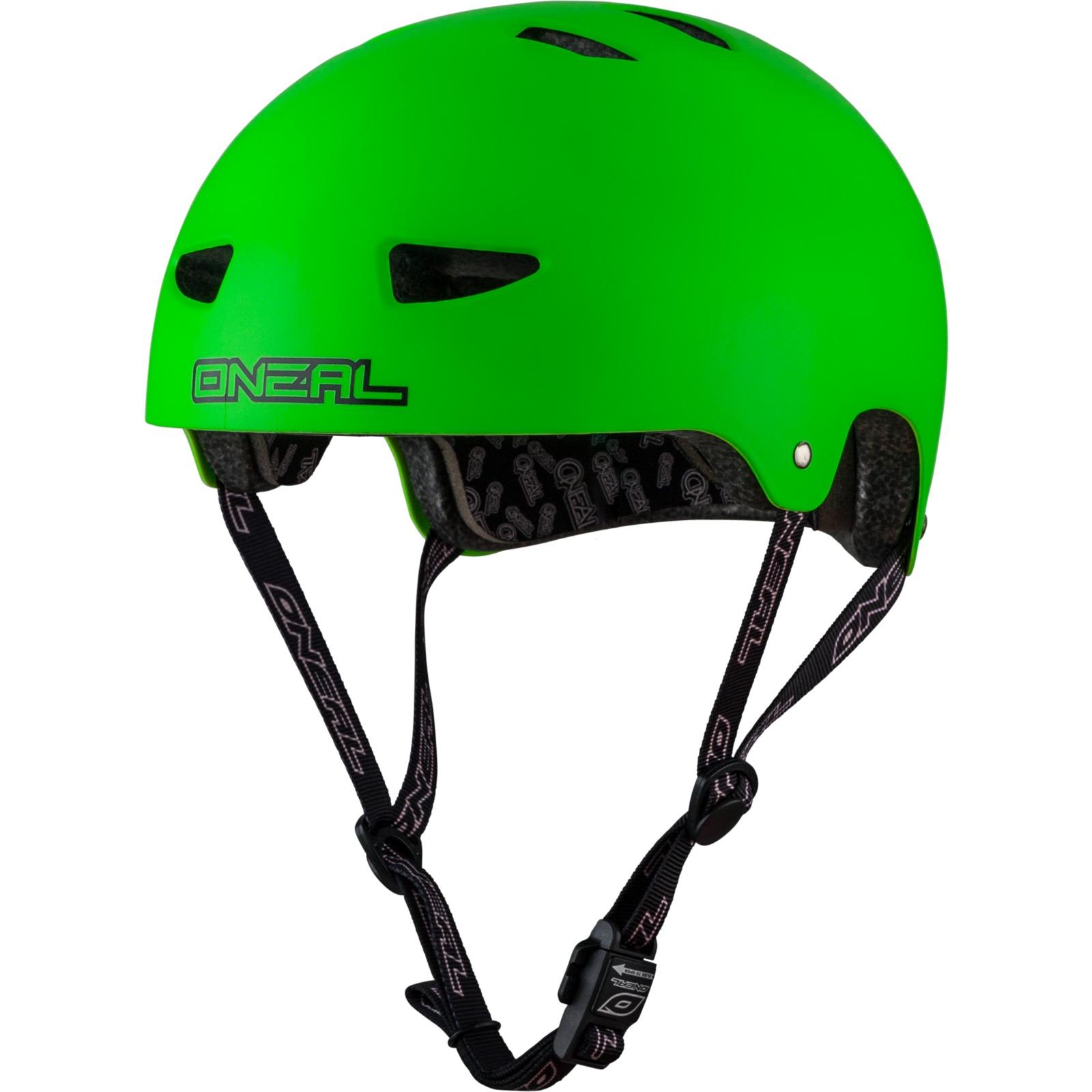 Oneal Dirt Lid Matt Neon Green Cycle Helmet Bicycle Safety