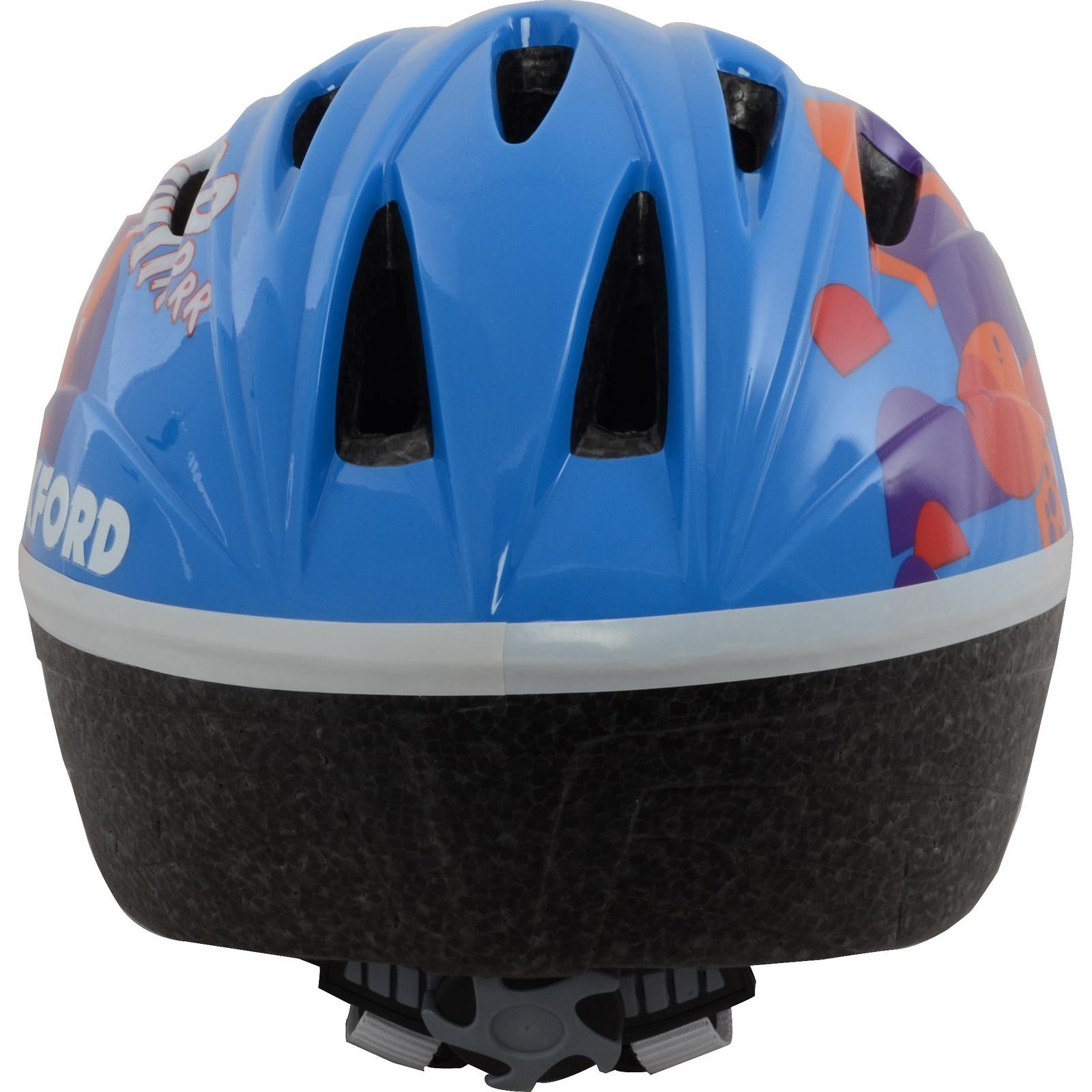 Oxford Grrr Blue Junior Cycle Helmet Kids Childrens Bike