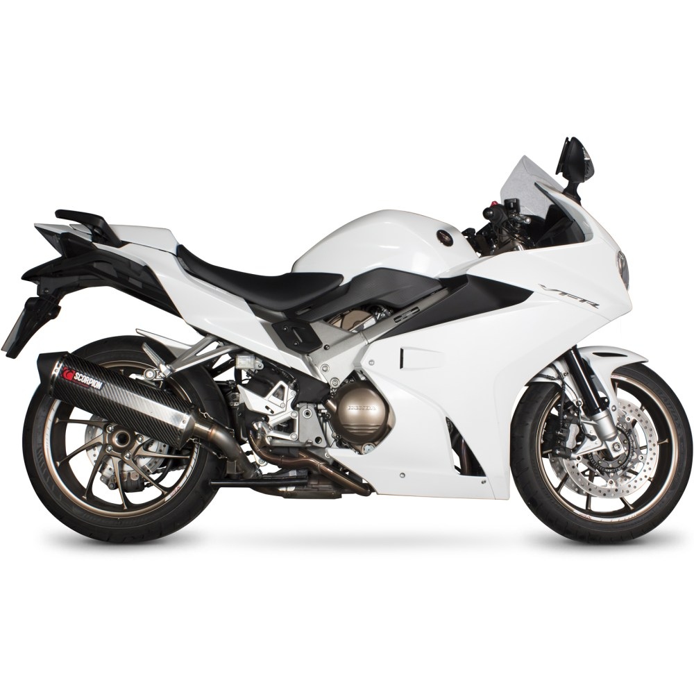 medium resolution of sentinel rha168seo scorpion serket parallel stainless oval exhaust honda vfr 800f 2014 current