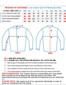 Ixon typhon sport hp motorcycle ce approved textile touring alpinestars  gp plus jacket size charts also coat chart clothing rh shirtsclothing