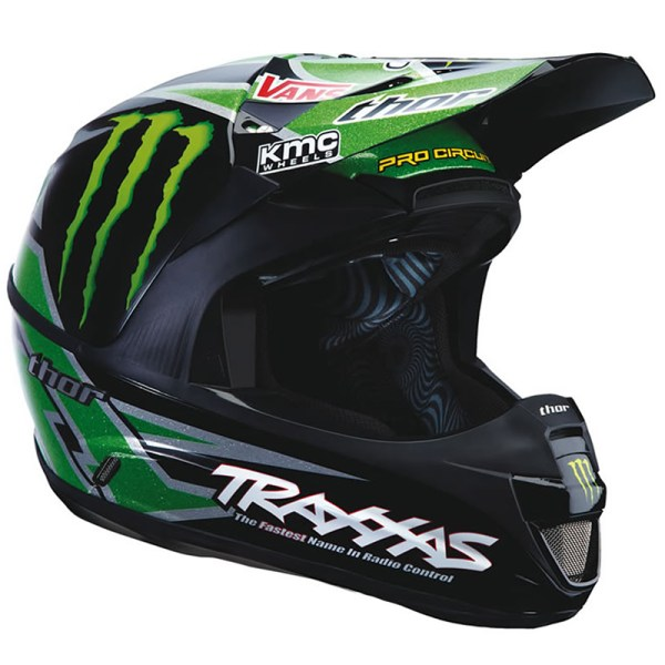 Thor Force Pro Circuit Monster Energy Black Green