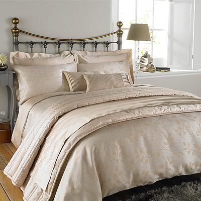 details about charlotte thomas caterina faux silk duvet cover beige