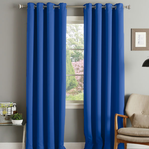 Linens Limited Thermal Blackout Eyelet Door Curtain 66 X 84 Inch