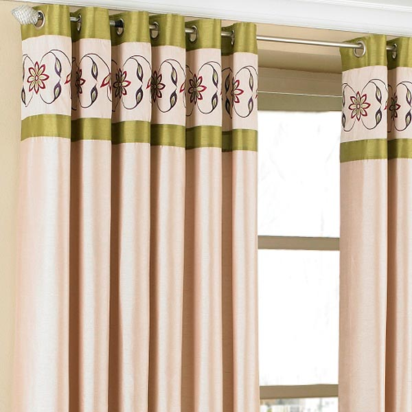 Eyelet Source Brown Cream And Green Curtains Integralbook Com Inspiring Ariel Ready Made