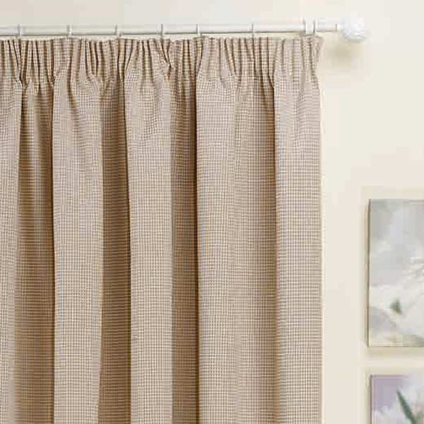 Kent Thermal Pencil Pleat Lined Door Curtain Panel 66 X 84 Inch