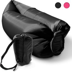 Inflatable Outdoor Sofa Chair Where To Buy Covers In Singapore Camping Lounger Sleeping Bed Hangout