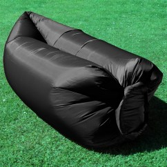 Inflatable Outdoor Sofa Chair Wedding Cover Hire Christchurch Camping Lounger Sleeping Bed Hangout