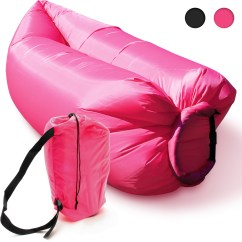 Inflatable Camping Chair Best Chairs Inc Recliner Reviews Lounger Sleeping Bed Sofa Hangout