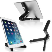 iGadgitz Black Adjustable Tablet Plastic Holder Stand ...