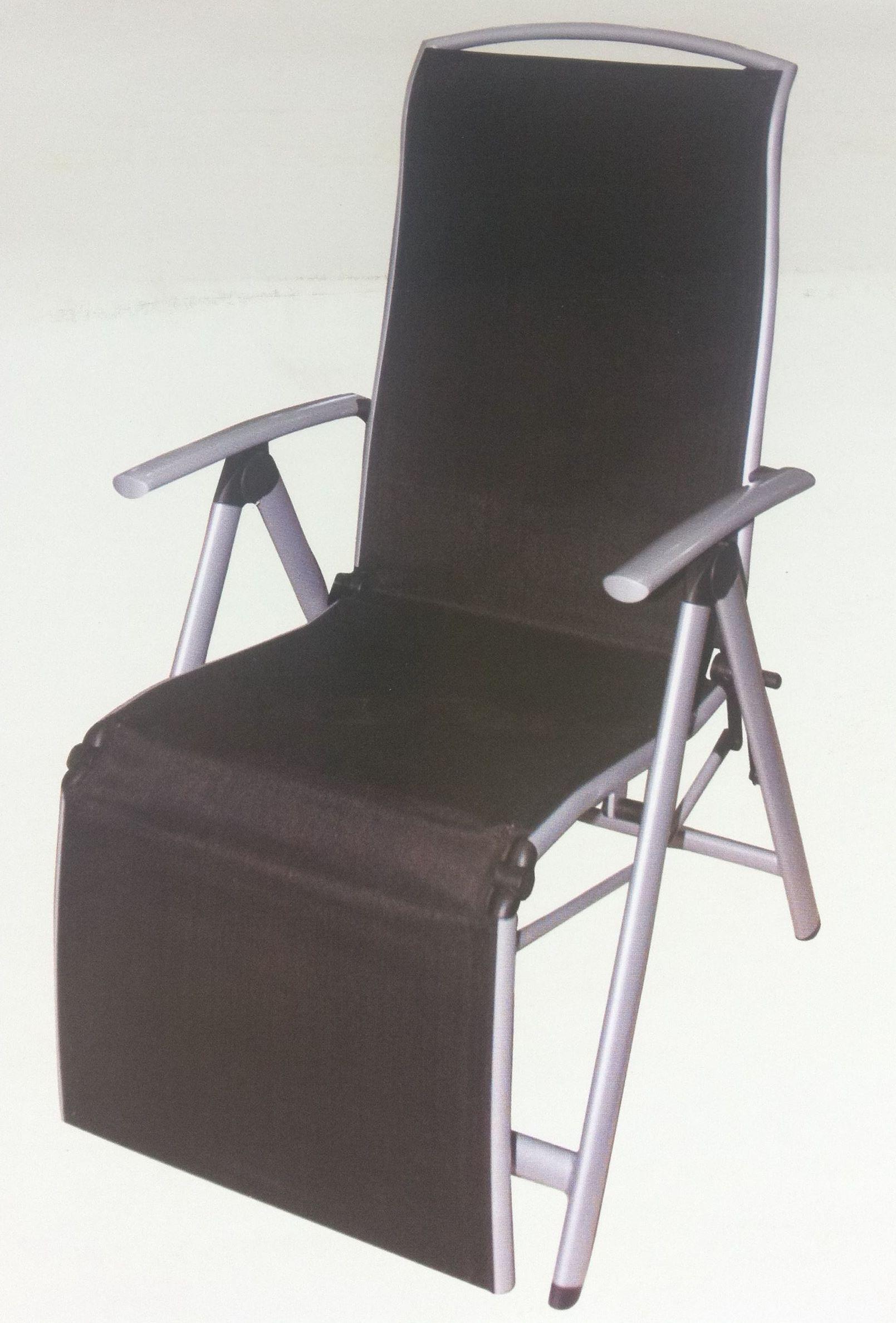 reclining deck chair asda lounge umbrella sun lounger garden relaxer patio
