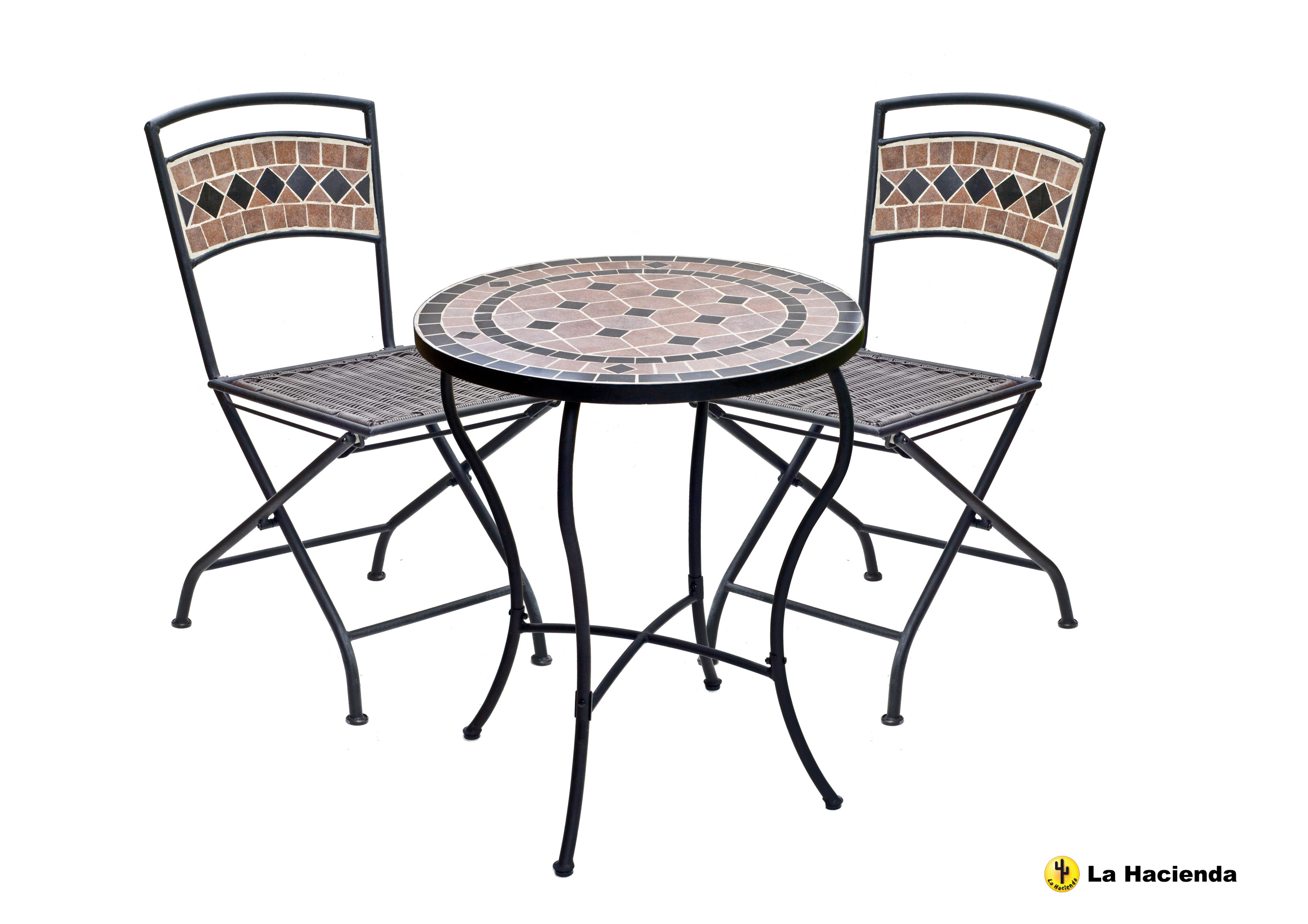 bistro style dining chairs cheap barber pompei table chair set 2 patio garden