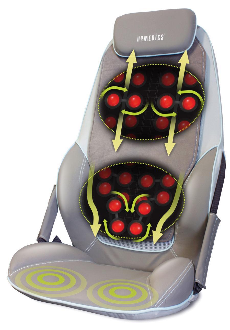 cheap rolling chairs chair cover rentals boston homedics cbs-1000 max shiatsu massage back and shoulder massager | ebay
