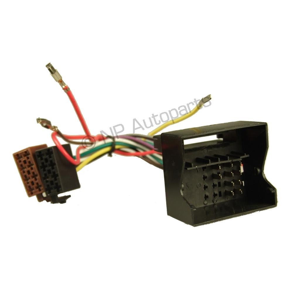 hight resolution of ai ewh1010 car stereo wiring harness for audi bmw vw bu wiring harnes vw polo mk 4 05 09 iso adaptor lead