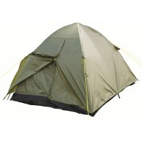 Highlander Rockall 2 Person Dome Tent Double Skin Pop Up
