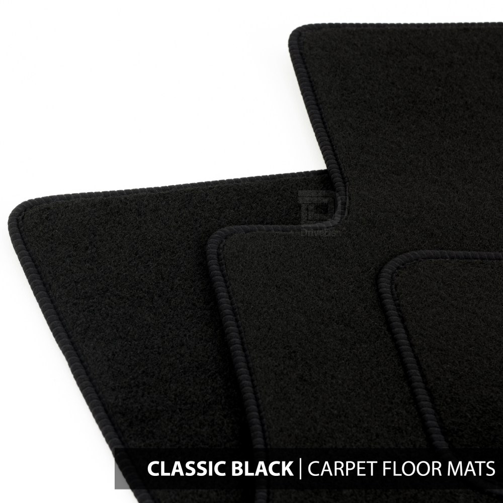 medium resolution of details about floor mats set to fit ford transit connect van 2 fixings 13 18 classic black