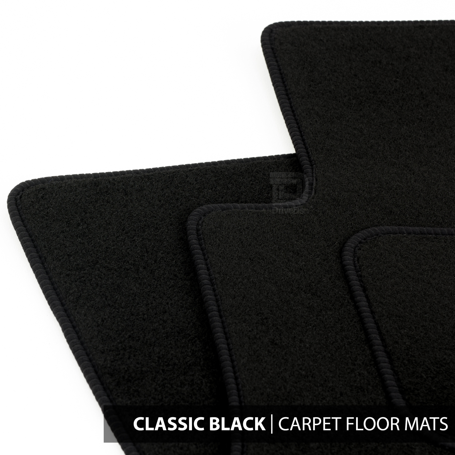 hight resolution of details about floor mats set to fit ford transit connect van 2 fixings 13 18 classic black
