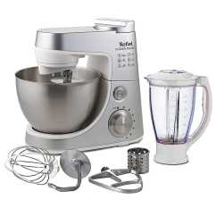 Kitchen Machine Horizontal Cabinets Tefal Qb403d40 900w Stainless Steel 6 Speed Ebay Details About