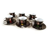 Cluedo Espresso Mug Collection - Set Of 6 | Pink Cat Shop