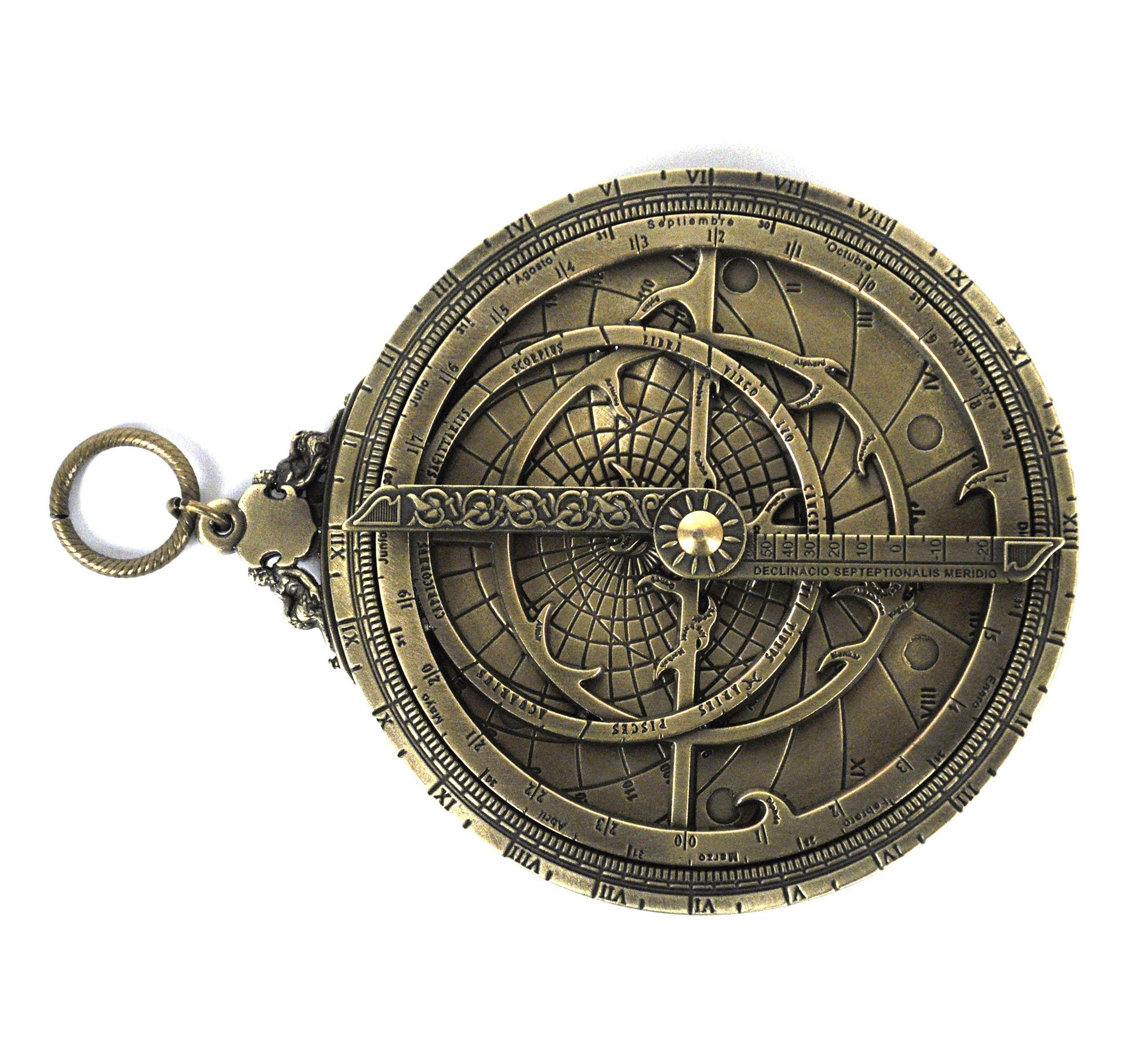 Astrolabe Hemispherium Antique Scientific Instument