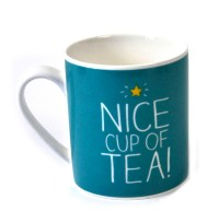 Nice Cup Of Tea Mug | Pink Cat Shop