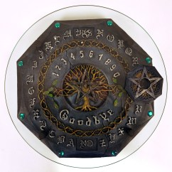 Kids Play Kitchen Accessories Free Standing Kitchens Ouija Board - Gothic Deluxe With Plate Glass | Pink Cat Shop