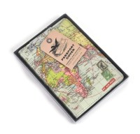 Global Map Passport Holder