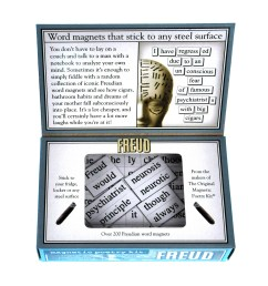 sentinel freud fridge magnet poetry set psychoanalysis fridge poetry [ 2000 x 2137 Pixel ]