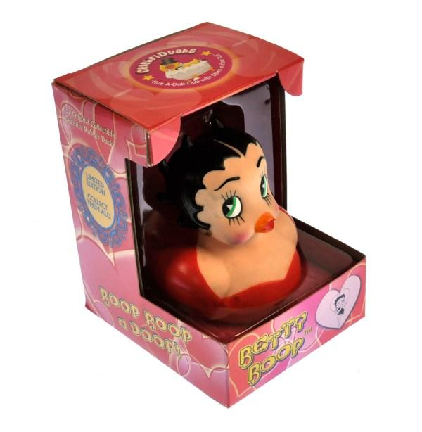 Betty Boop Rubber Duck - Celebriduck Pink Cat
