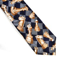 Chess Tie for Chess Players | Pink Cat Shop