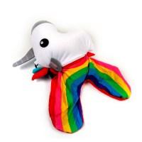 Unicorn Rainbow Zip & Flip Pillow