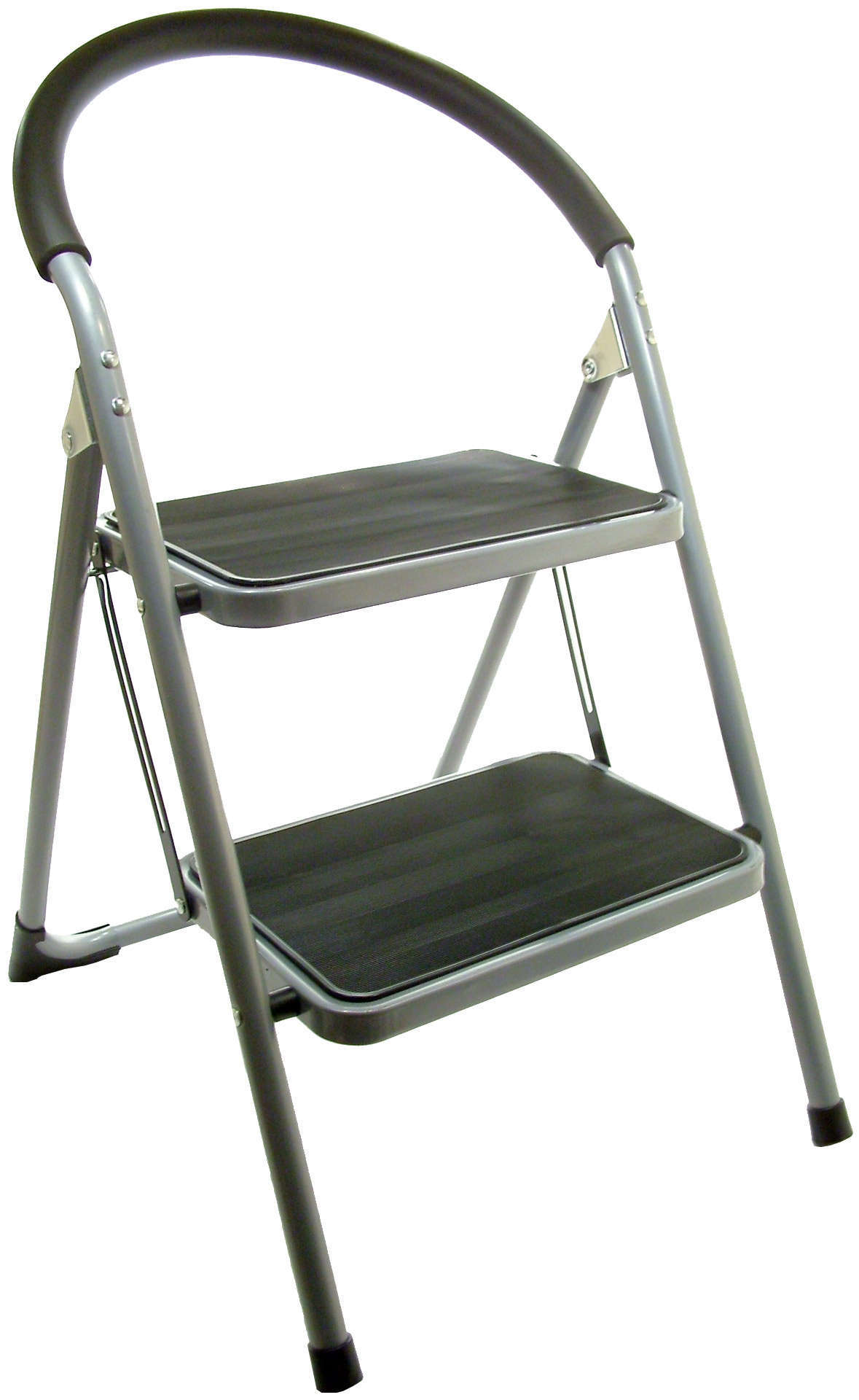 step 2 chair old fold up rocking new ladder stool folding metal wide treads