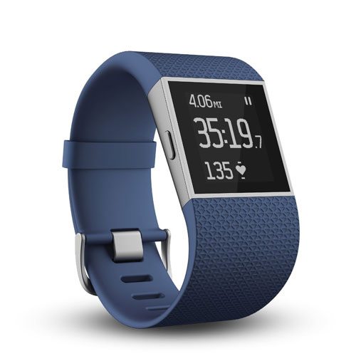 FITBIT SURGE ULTIMATE FITNESS AND ACTIVITY TRACKER SUPER ...