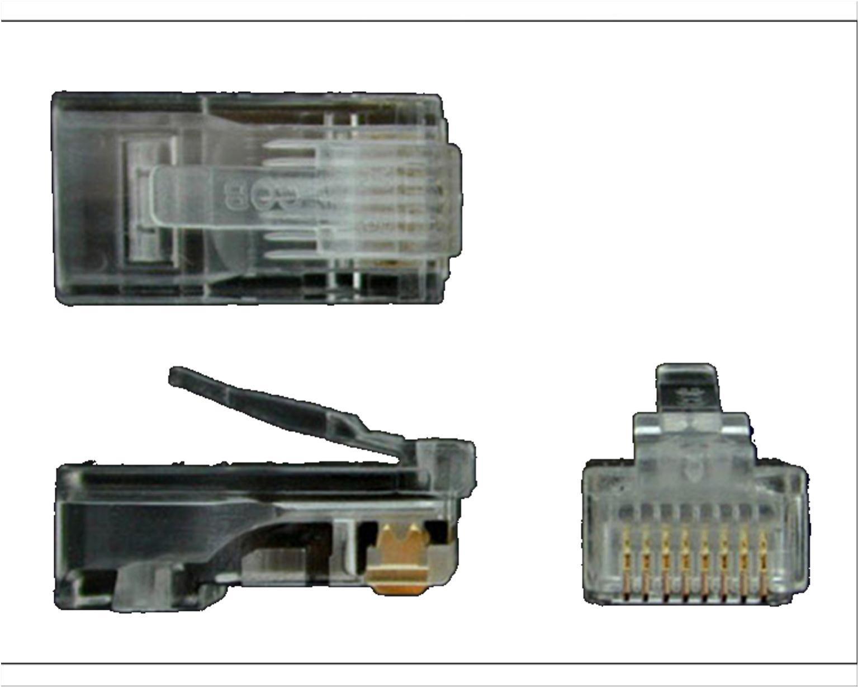 rj45 modular jack wiring diagram 1992 gas club car golf cart cs950 of 50 crj4550pk startech cat5e stranded