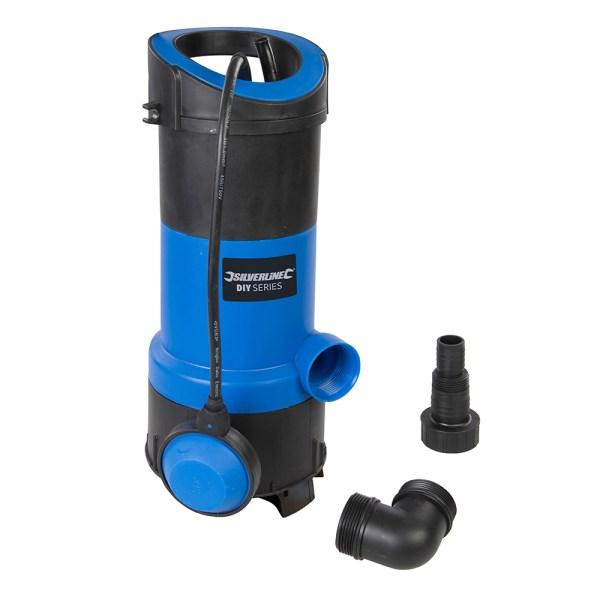 Silverline 750w Diy Clean & Dirty Water Pump 5024763175442