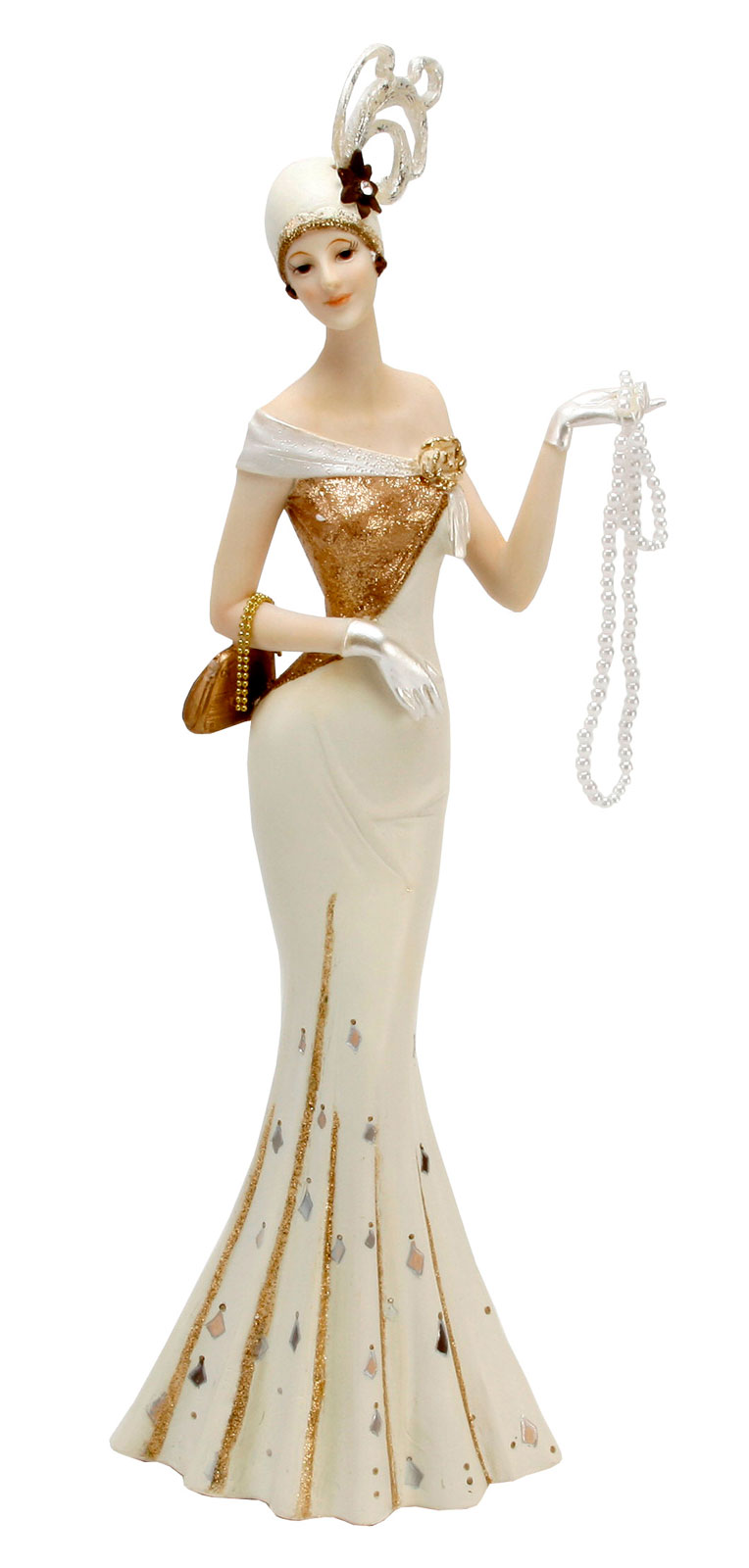 Juliana Art Deco Chicago Style Evening Model Lady Figurine