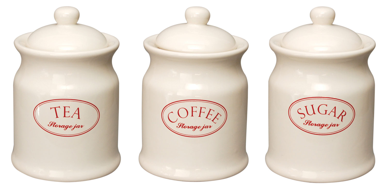 kitchen canisters ceramic aid mixers ascot cream tea coffee sugar storage jars