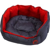 Oval Square Petface Waterproof Dog Puppy Bed Luxury ...