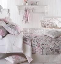 Papillon Butterfly Flowers Quilt & Pillow Sham Set Vintage ...