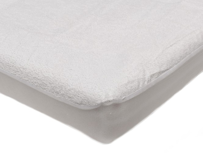 Waterproof Soft Terry Towelling Ed Baby Cot Bed