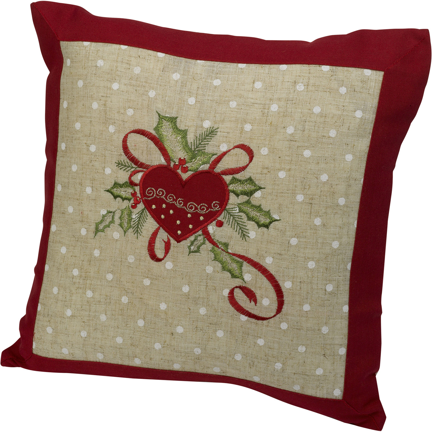 ebay uk christmas chair covers cushions with ties festive embroidered cushion cover decorative