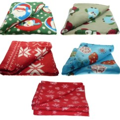 100 Polyester Sofa Throws Chenille Fabric Cover Soft Polar Fleece Blanket Festive Christmas Xmas