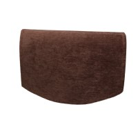 Chenille Single Chair Back Plain Soft Touch Furniture ...