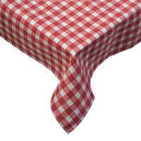 Tablecloth Traditional Gingham Check 100% Cotton Picnic ...
