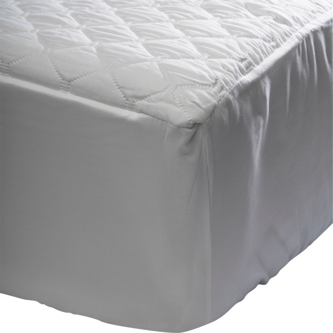 Waterproof Quilted Mattress Protector Microfibre Cover 30cm Elastic