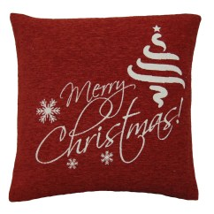 Ebay Uk Christmas Chair Covers High That Attaches To Festive Cushion Decorative Xmas