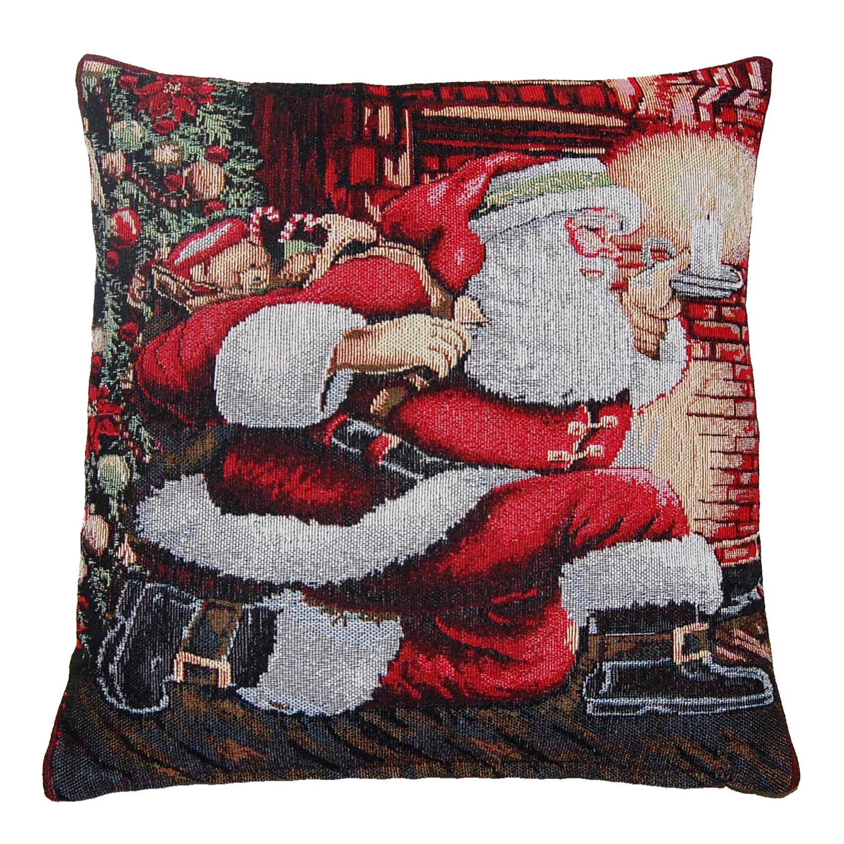 ebay uk christmas chair covers ot posture deluxe festive cushion decorative xmas